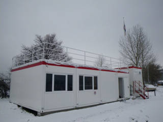 Wachstation im Winter